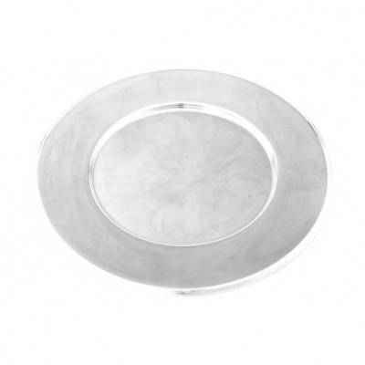 Podstawka pod talerz ze stali szlachetnej - piękna i błyszcząca - 1 szt.
